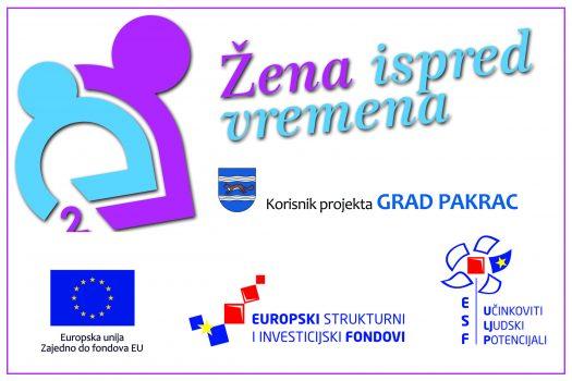 Naslovni banner projekta Žena ispred vremena