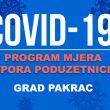 U primjeni dopuna Odluke o provedbi programa mjera potpora poduzetnicima Grada Pakraca zbog epidemije virusa COVID-19